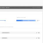 V zacílení A/B testu nám přibylo nové pravidlo – experiment se nyní zobrazí všem, kteří jsou na homepage webu a zároveň už zavítali na naši stránku o konverzi