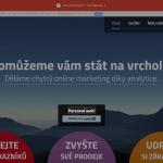 """V editoru také změníme textaci boxu na """"Personalizovat web"""""""